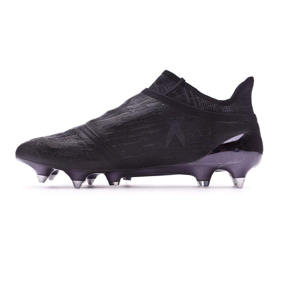 412c311ec27a Football Boots adidas X 16+ Purechaos SG Dark Black - Football store Fútbol  Emotion