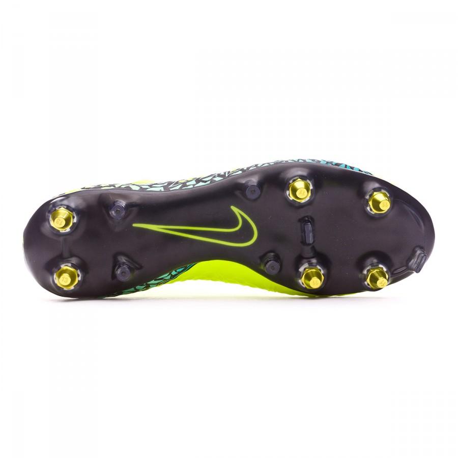 541a0d1c2 Zapatos de fútbol Nike HyperVenom Phantom II SG-Pro AntiClog Volt-Black-Hyper  turquoise-Clear jade - Tienda de fútbol Fútbol Emotion