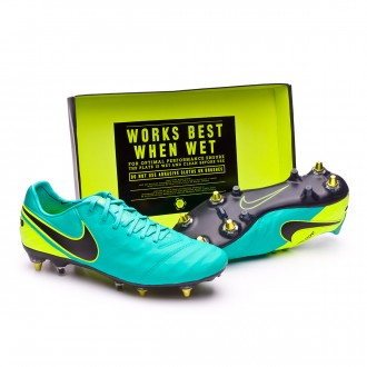 Bota  Nike Tiempo Legend VI SG-Pro AntiClog Clear jade-Black-Volt