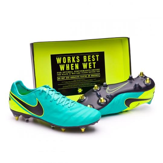 Chuteira  Nike Tiempo Legend VI SG-Pro AntiClog Clear jade-Black-Volt