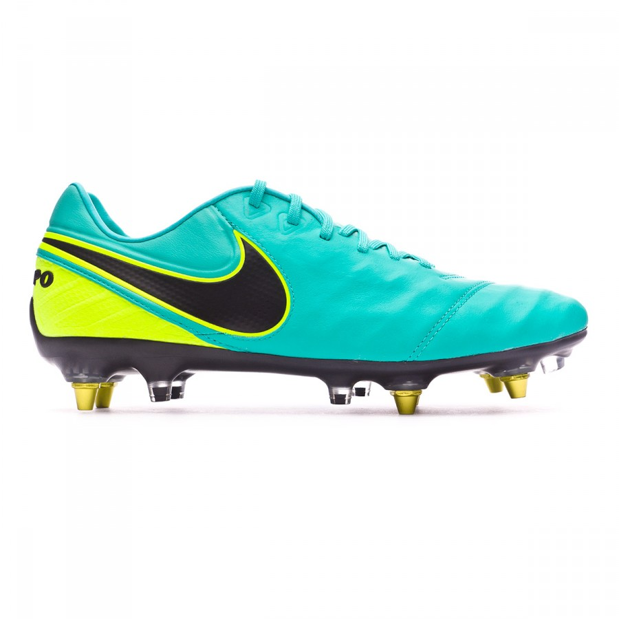 c50a354b8ad8 Football Boots Nike Tiempo Legend VI ACC SG-Pro Anti-Clog Clear jade-Black- Volt - Football store Fútbol Emotion