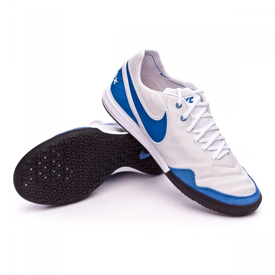 Zapatilla Nike TiempoX Proximo IC Summit white-Varsity blue-White-Black -  Soloporteros es ahora Fútbol Emotion 4d8e809187e36