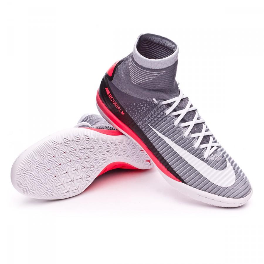 b228d92af163 Chaussure de futsal Nike MercurialX Proximo II IC Wolf grey-White-Pure  platinum-Infrared - Boutique de football Fútbol Emotion