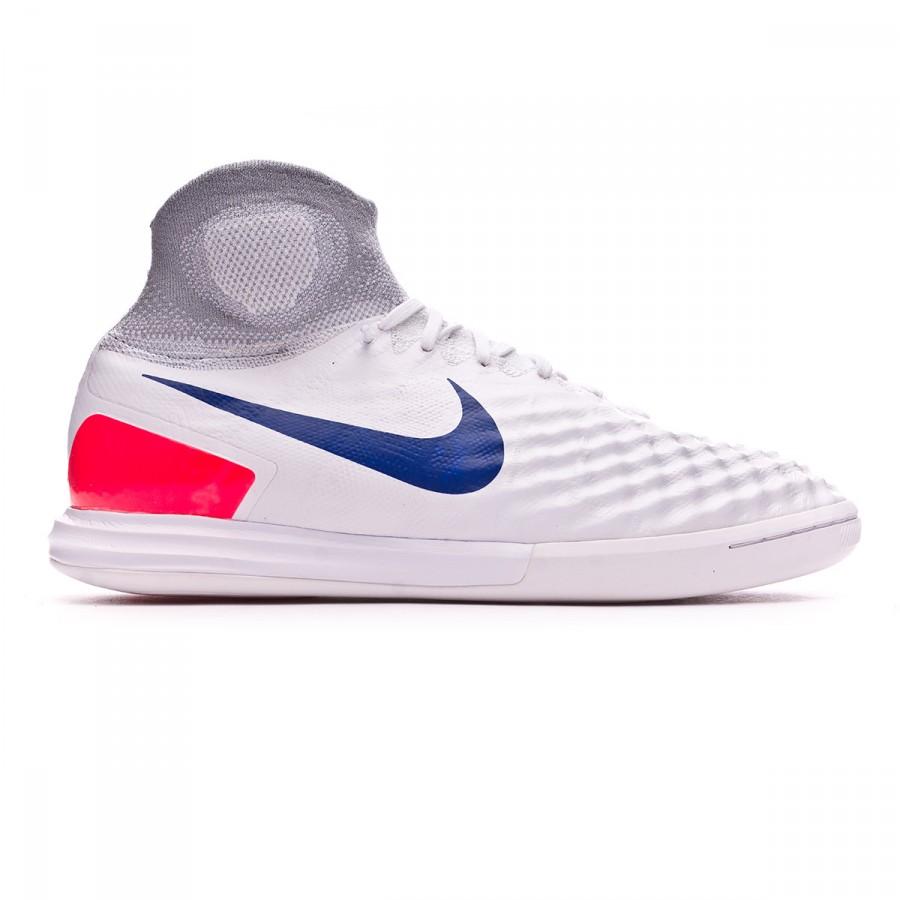 a652cdba08e9 Futsal Boot Nike MagistaX Proximo II IC Pure platinum-Ultramarine-Wolf grey  - Tienda de fútbol Fútbol Emotion