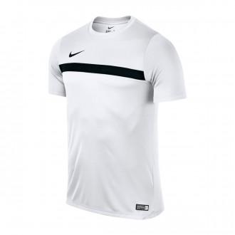 Camiseta  Nike Dry Football Niño White-Black