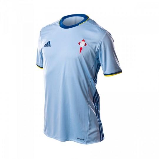 Camiseta  adidas RC Celta de Vigo Home 2016-2017 Clear blue-Dark marine