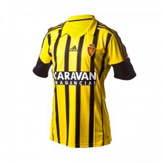 Camiseta  adidas Real Zaragoza Segunda Equipación 2016-2017 Niño Yellow-Black