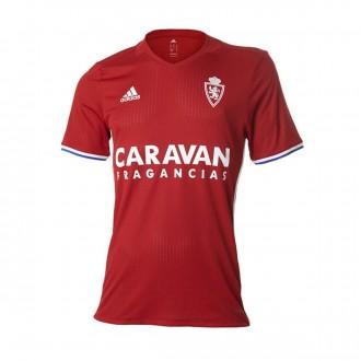 Camiseta  adidas Real Zaragoza Tercera Equipación 2016-2017 Niño Power red-Bold blue-White
