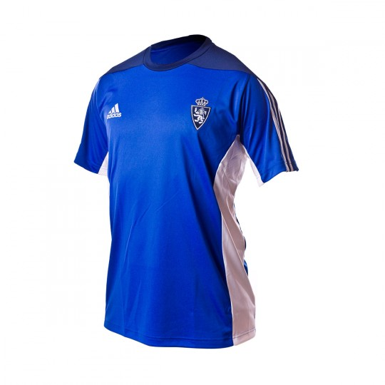 Camiseta  adidas jr Real Zaragoza Training 2016-2017 Dark blue-White