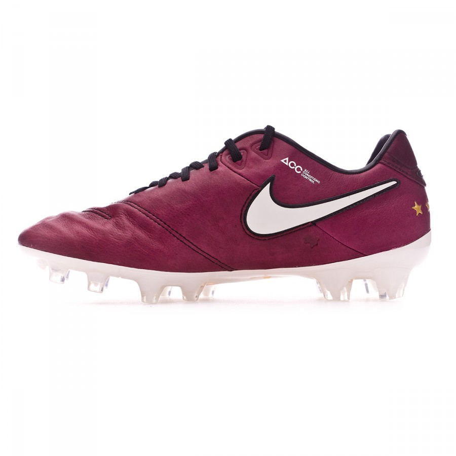 0098acdb0dd Football Boots Nike Tiempo Legend VI SE Pirlo FG Merlot-Sail - Football  store Fútbol Emotion