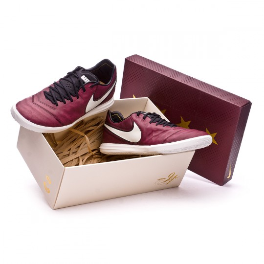 Zapatilla de fútbol sala  Nike TiempoX Proximo SE Pirlo IC Merlot-Sail-Metallic vivid gold