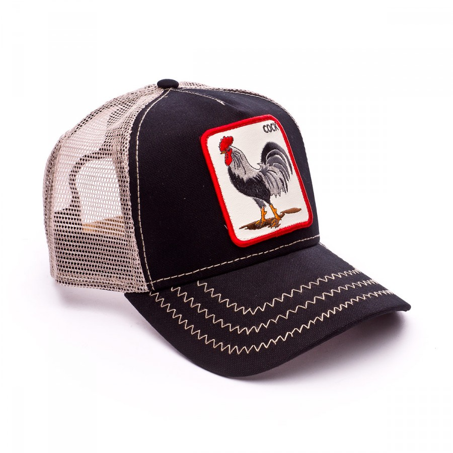 Cap Goorin Bros Rooster Black - Football store Fútbol Emotion 4f43b1467db