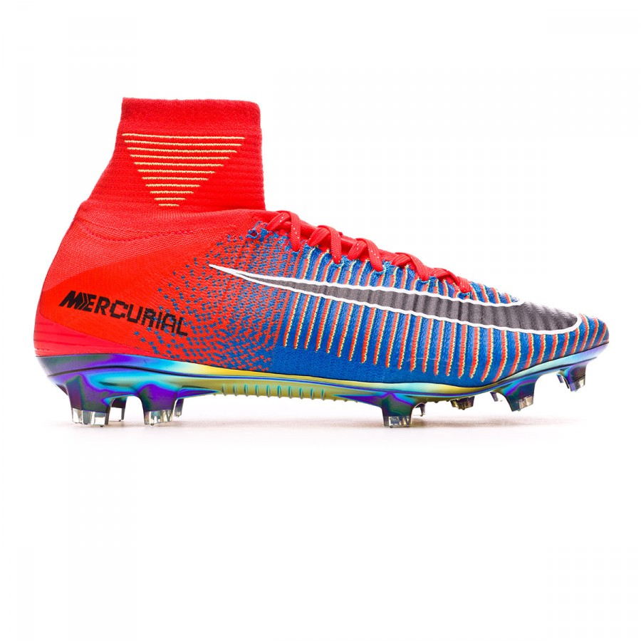 9c663f5a824 Football Boots Nike Mercurial superfly V ACC FG EA Sports Edition Total  crimson-Black-Photo blue - Football store Fútbol Emotion