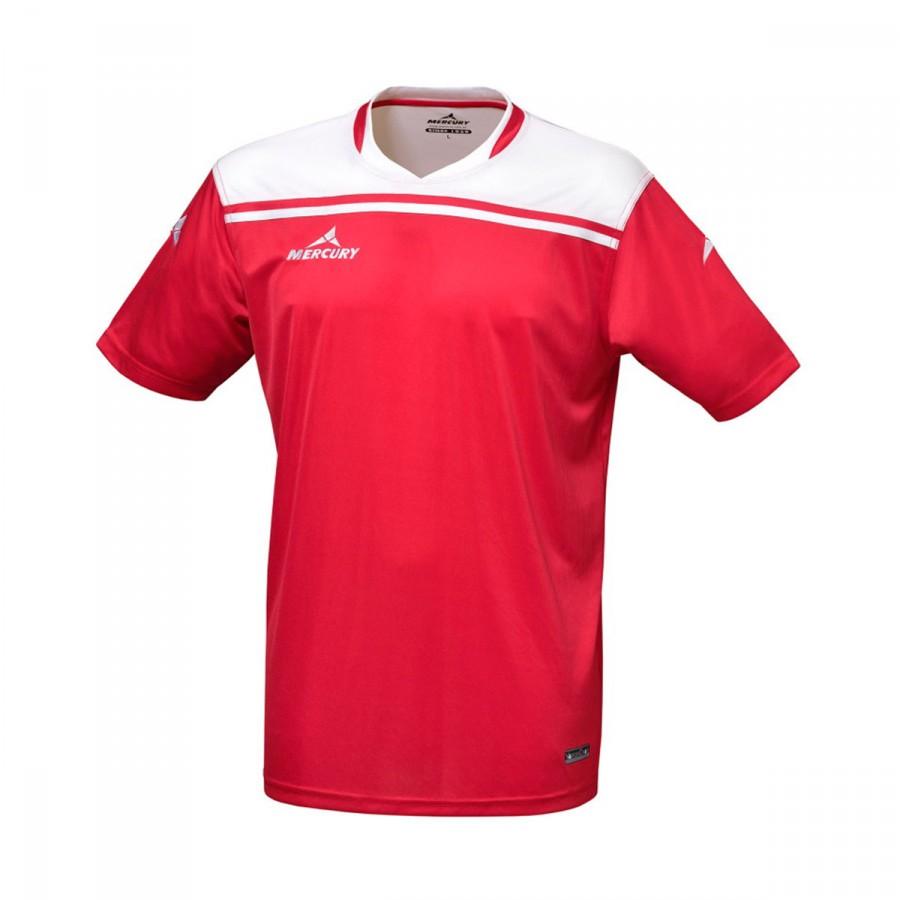 82e0fe859cfcf Camisola Mercury Liverpool Vermelho-Branco - Loja de futebol Fútbol Emotion