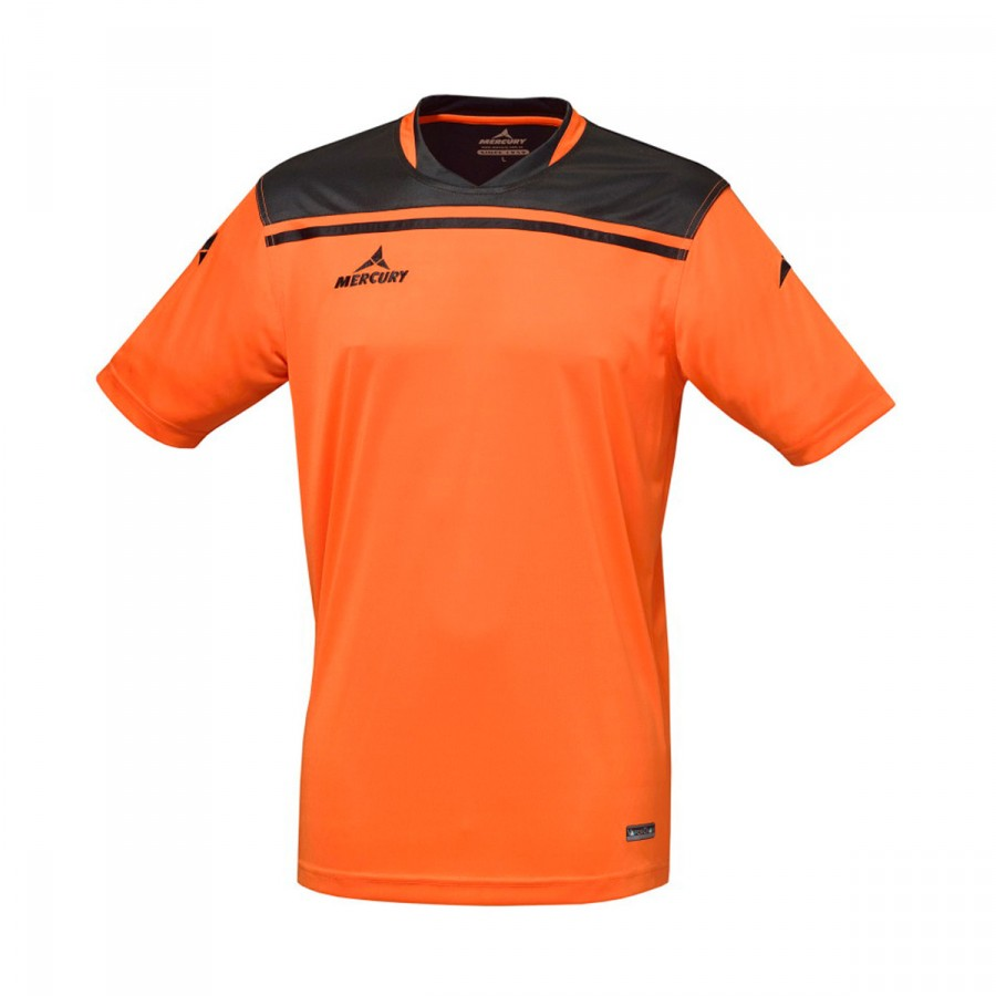 promo code 34f36 d7ba7 Camiseta Liverpool Naranja-Negro