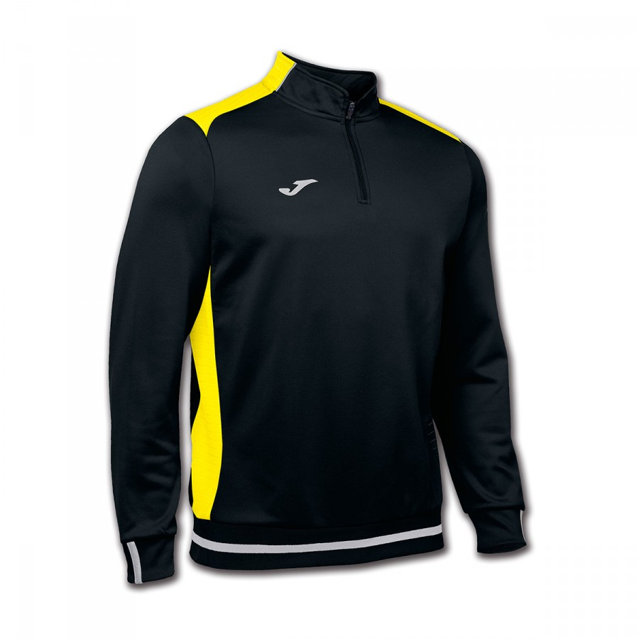grande vendita grande vendita nuovi speciali Sweatshirt Joma Campus II Black-Yellow - Football store Fútbol Emotion