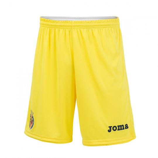 Calções  Joma Villarreal CF Principal 16-17 Amarelo