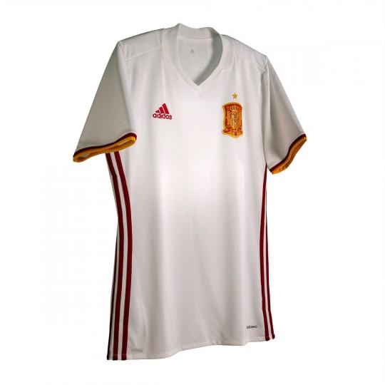 Camiseta  adidas Selección Española Away Mundial 2016-2017 White-Red