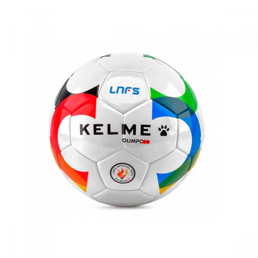 Bola de Futebol Kelme Olimpo20 Oficial LNFS 2016-2017 Branco - Loja ... 361ea7415f814