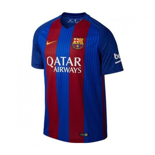 Camiseta  Nike FC Barcelona Home Stadium 2016-2017 Sport royal-Gym red-University gold
