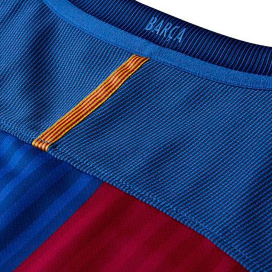 06e6e9d2e7 Jersey Nike FC Barcelona Home Stadium 2016-2017 Sport royal-Gym red ...