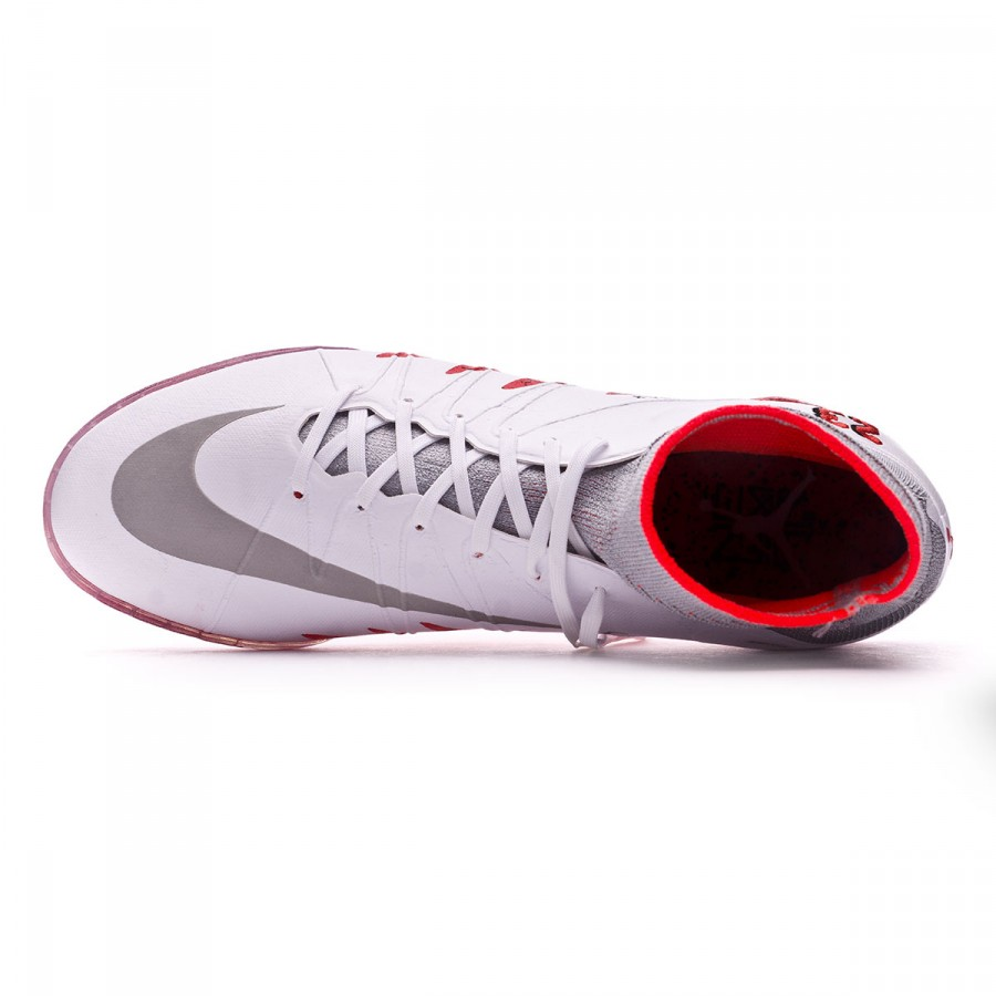 5c9ae528583 Football Boot Nike HyperVenomX Proximo Neymar Jr Turf White-Reflect  silver-Light crimson-Black - Tienda de fútbol Fútbol Emotion