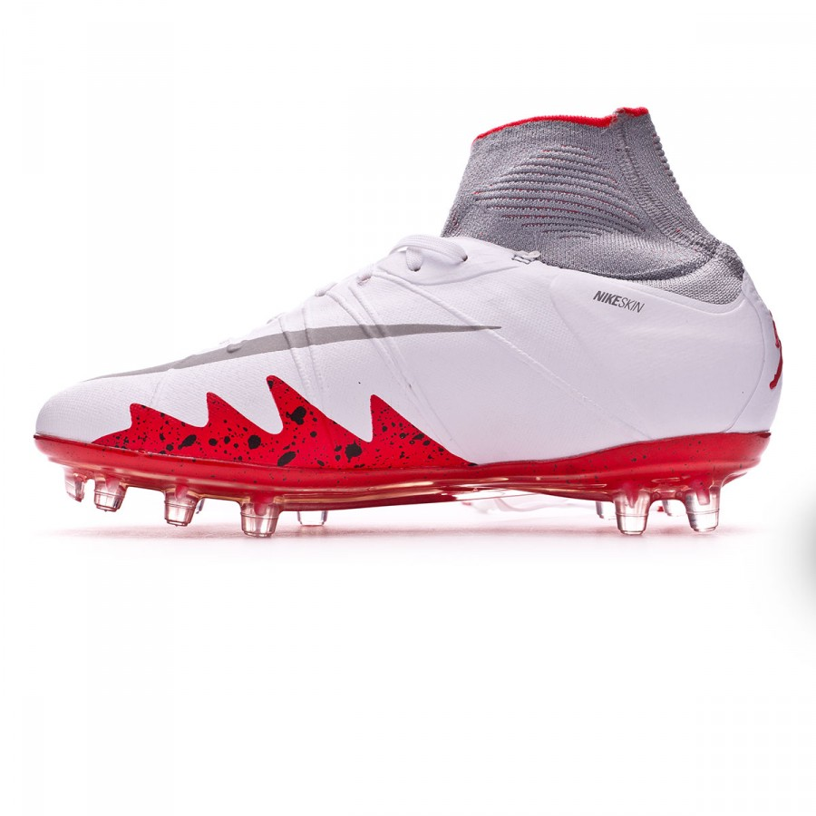 Silver Crimson White Hypervenom Niño Acc Reflect Fg Light Phantom Neymar Bota Black Ii IWeEH9D2Y