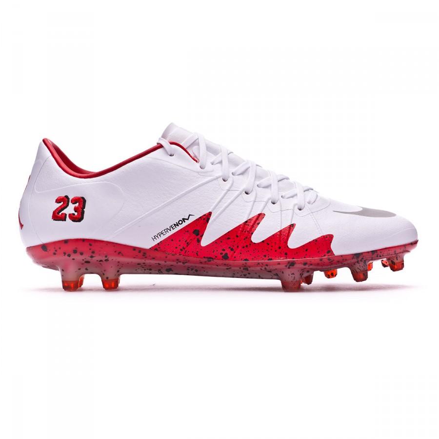 6009781d9 Football Boots Nike HyperVenom Phinish II Neymar Jr FG White-Reflect silver-Light  crimson-Black - Football store Fútbol Emotion