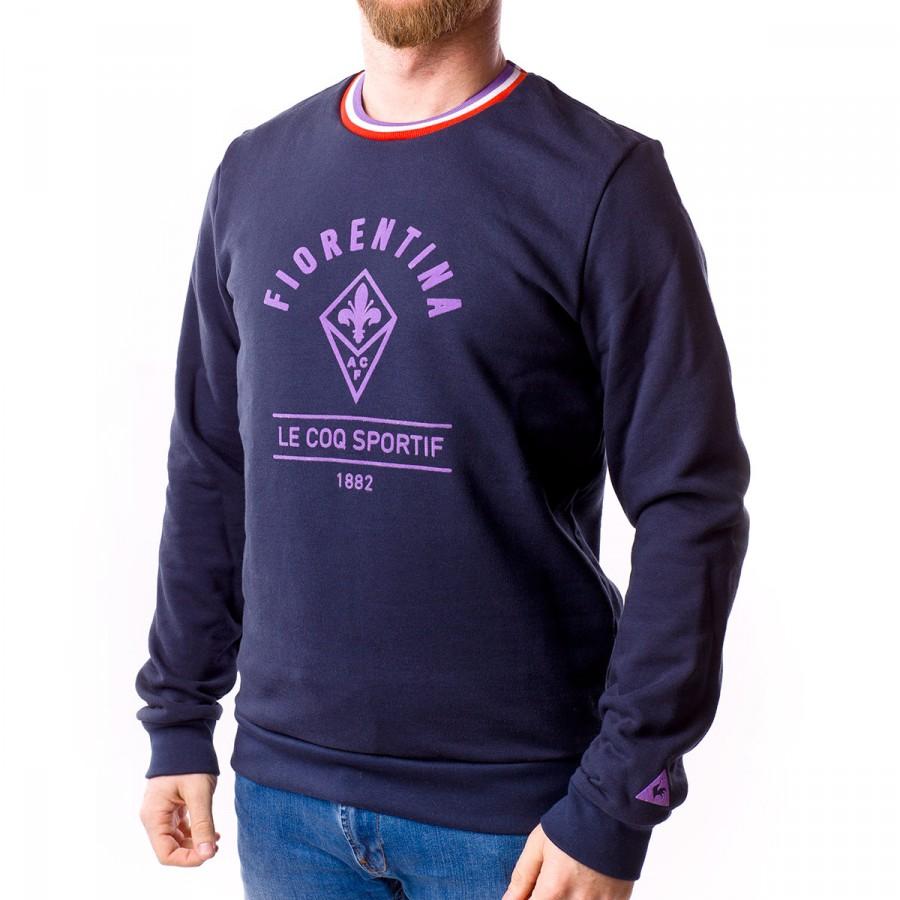 63798f2ce4d3 Sweatshirt Le coq sportif AC Fiorentina Crew Eclipse - Football ...