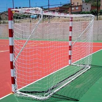 Jim Sports Conjunto de Redes Futsal / Andebol 3mm  Branco