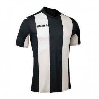 Jersey  Joma SS Pisa Black-White
