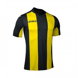 Jersey Joma Pisa V ss Black-Yellow