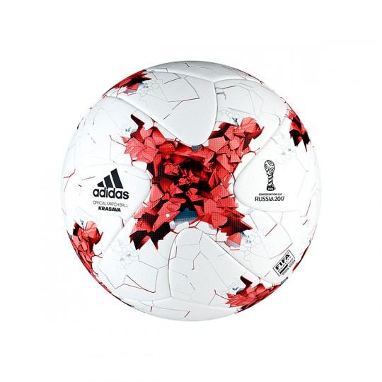 Balón  adidas Confed Cup OMB White-Red