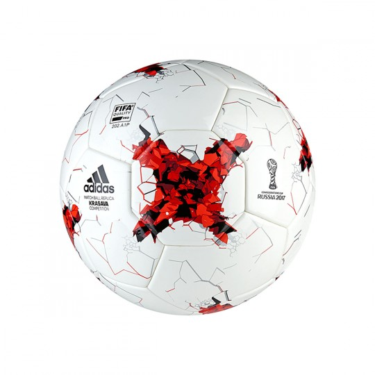 Balón  adidas Confed COMP White-Red