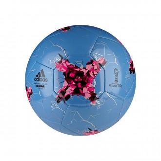 Balón  adidas Confed Glider Blue-Cyan-Pink