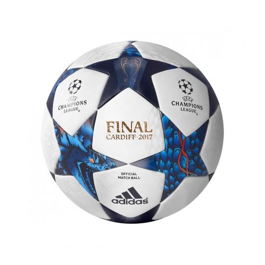 Balón  adidas Finale Cardiff 2017 OMB White-Blue