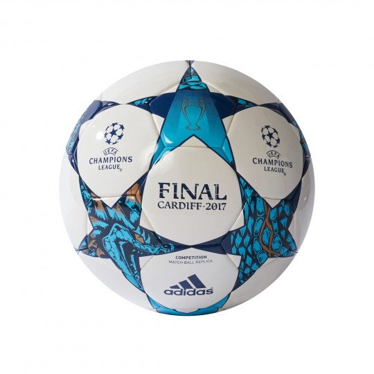 Balón  adidas Finale Cardiff 2017 Competition White-Blue