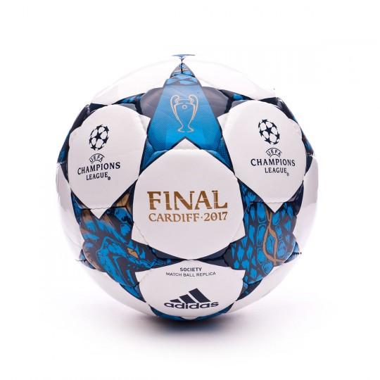 Bola de Futebol  adidas Finale Cardiff 2017 Society White-Blue