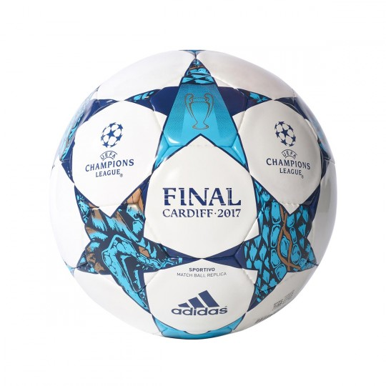 Balón  adidas Finale Cardiff 2017 Sportivo White-Blue