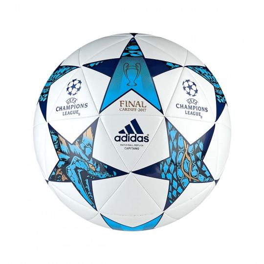 Balón  adidas Finale Cardiff 2017 Capitano White-Blue