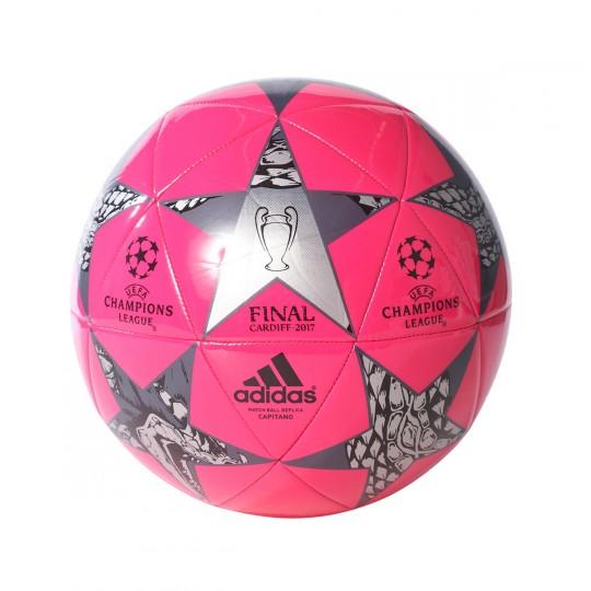 Balón  adidas Finale Cardiff 2017 Capitano Pink blast-Grey