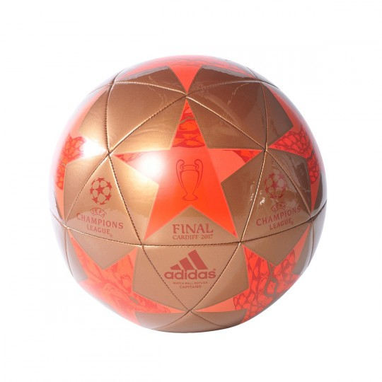 Balón  adidas Finale Cardiff 2017 Capitano Gold-Red