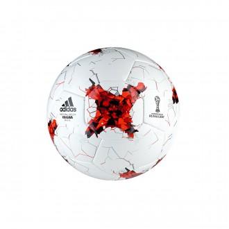 Balón  adidas Confed Sala65 White-Red
