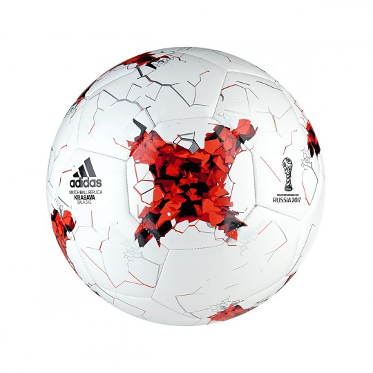 Ballon  adidas Confed Sala5x5 White-Red