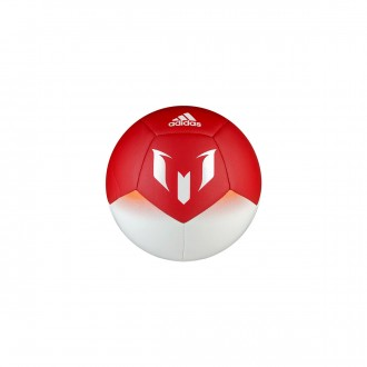 Bola de Futebol  adidas Mini Messi White-Semi pink-Red