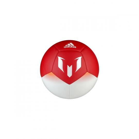 Balón  adidas Mini Messi White-Semi pink-Red