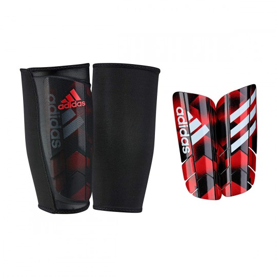 Protège tibia  adidas Ghost Graph Black-Red