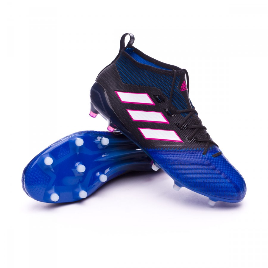 Blue Fútbol 17 Fg Adidas Zapatos 1 Black White Ace Primeknit Core De apPZxn5PS