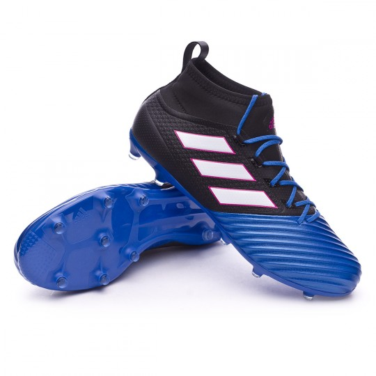 Chaussure  adidas Ace 17.2 Primemesh FG Core black-White-Blue