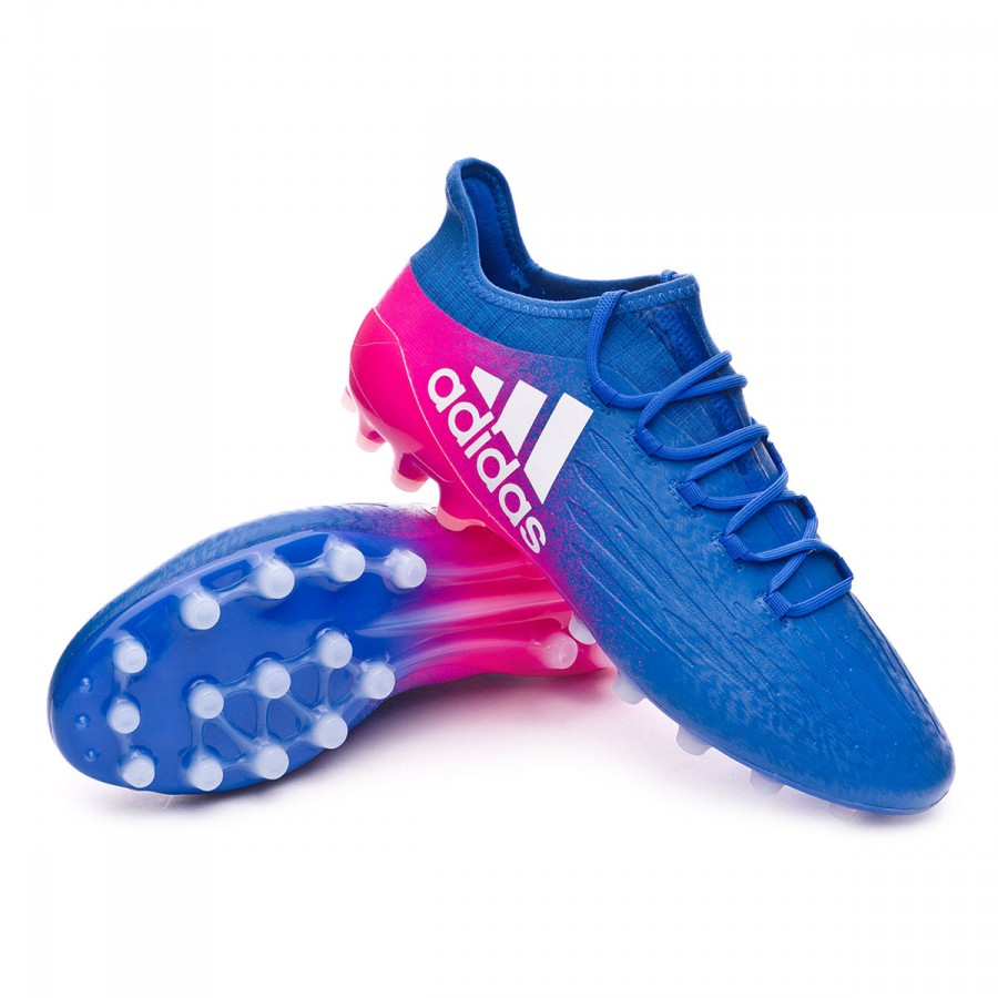 competitive price 54c74 ee439 Bota X 16.1 AG Blue-White-Shock pink